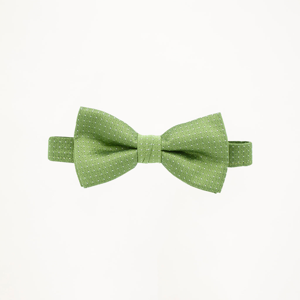 Clover Sterling Bow Tie