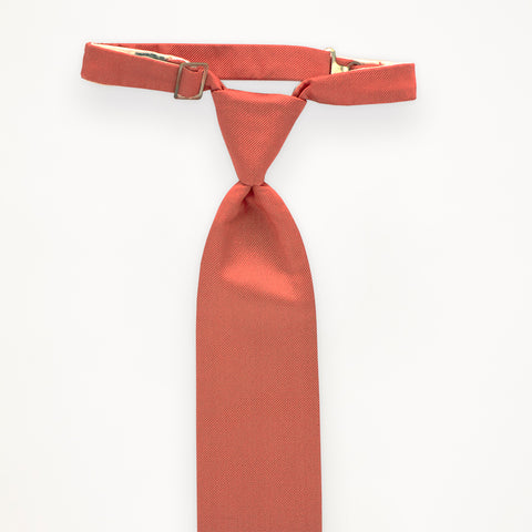 Coral Reef Savvi Solid Long Tie