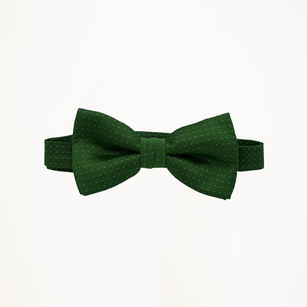 Emerald Sterling Bow Tie