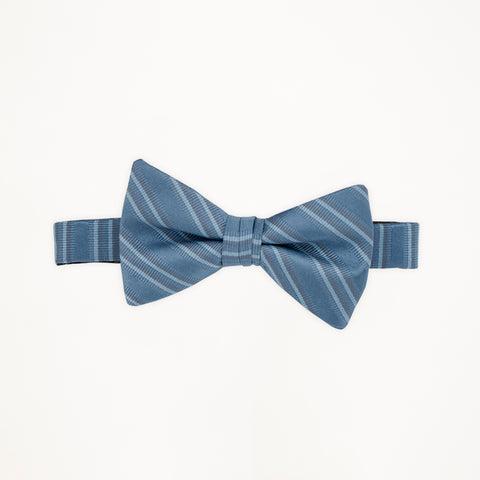 Ever After Stripe Bow Tie