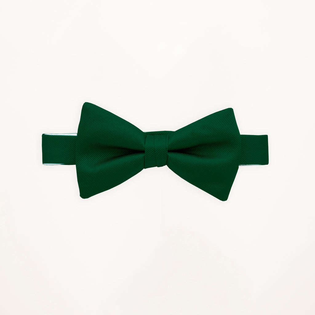 Evergreen Savvi Solid Bow Tie