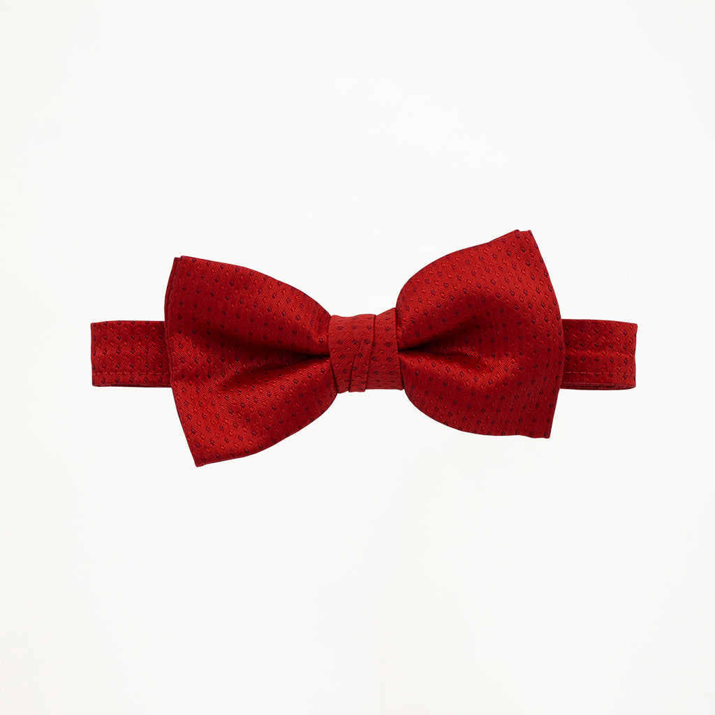 Ferrari Red Sterling Bow Tie