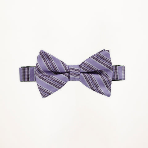 Freesia Stripe Bow Tie