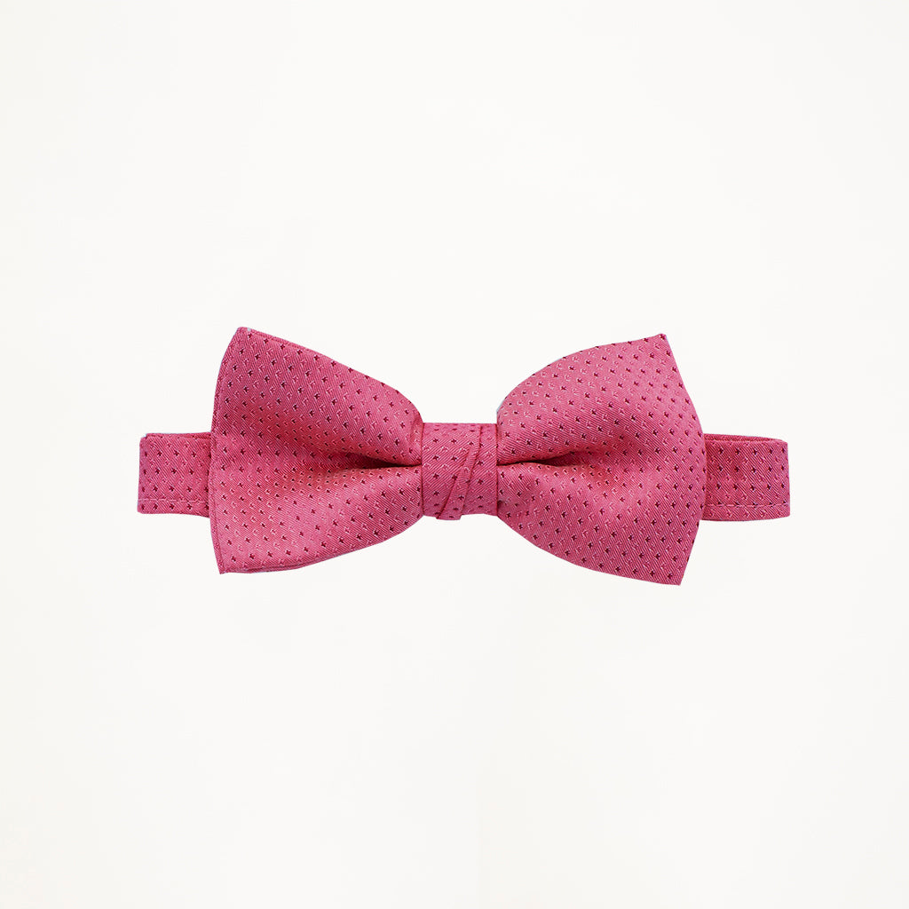 Fuchsia Sterling Bow Tie