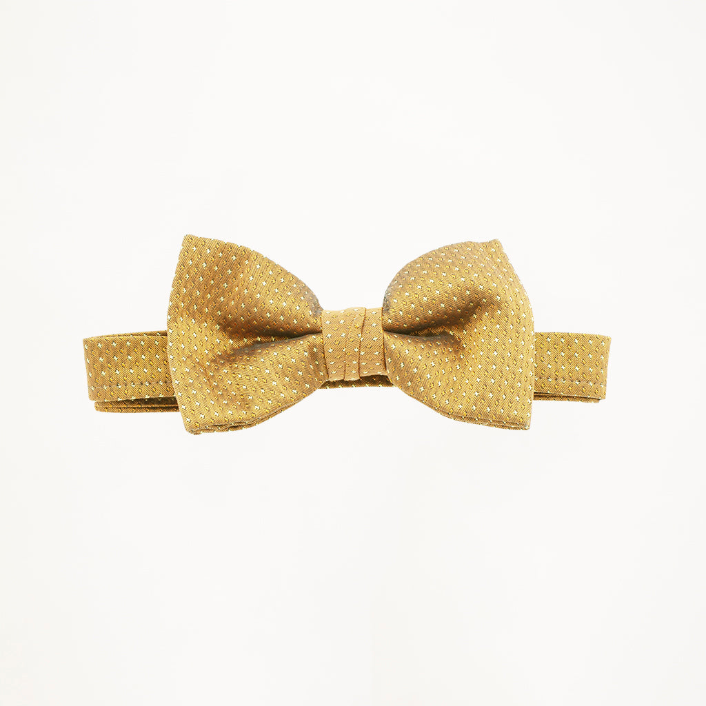 Gold Sterling Bow Tie