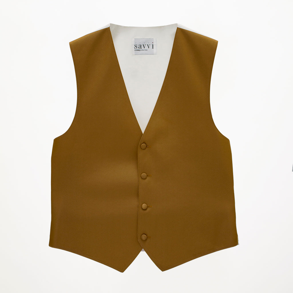 Golden Savvi Solid Vest