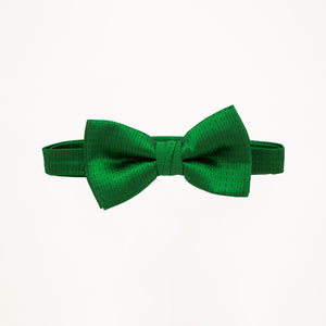 Kelly Green Sterling Bow Tie