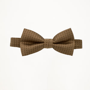 Latte Sterling Bow Tie