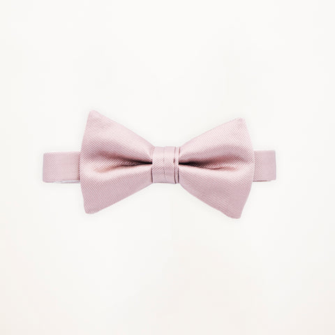 Loves First Blush Savvi Solid Bow Tie