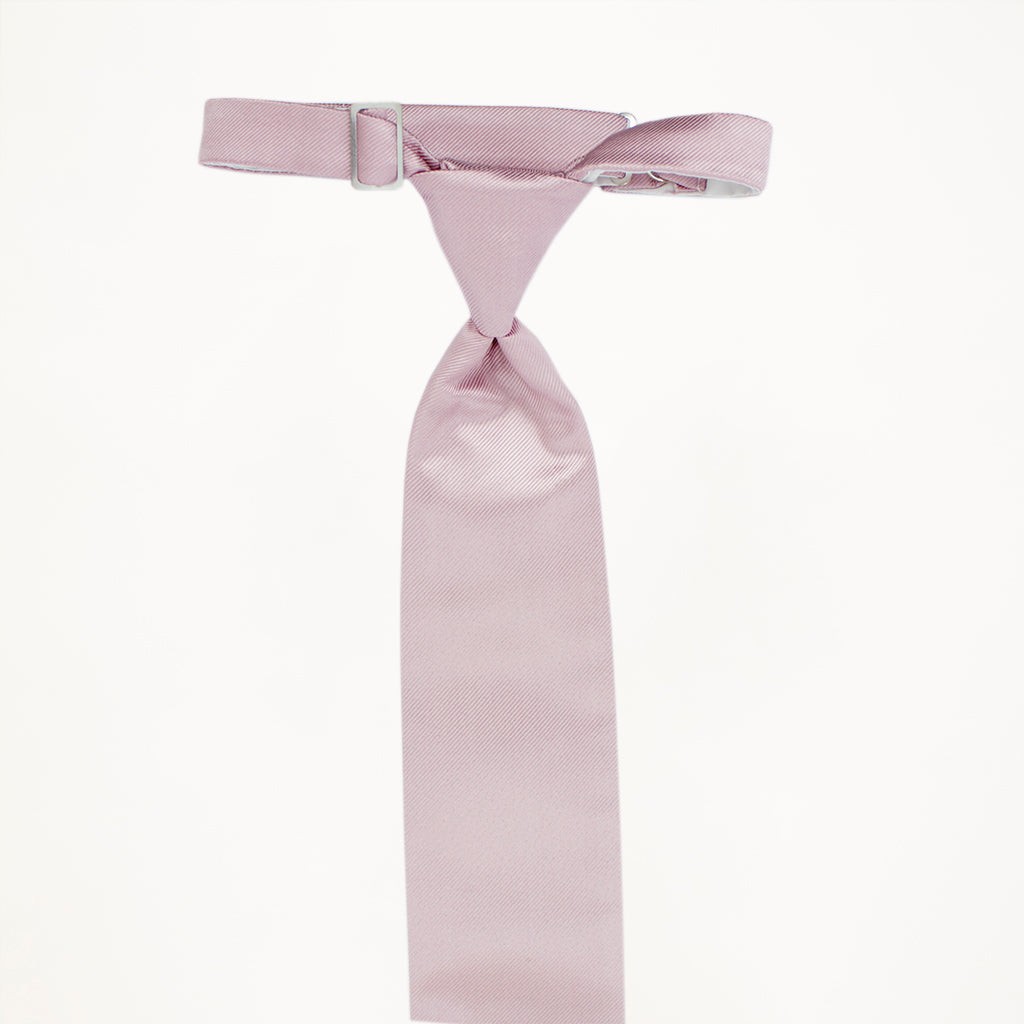Love's First Blush Solid Long Tie