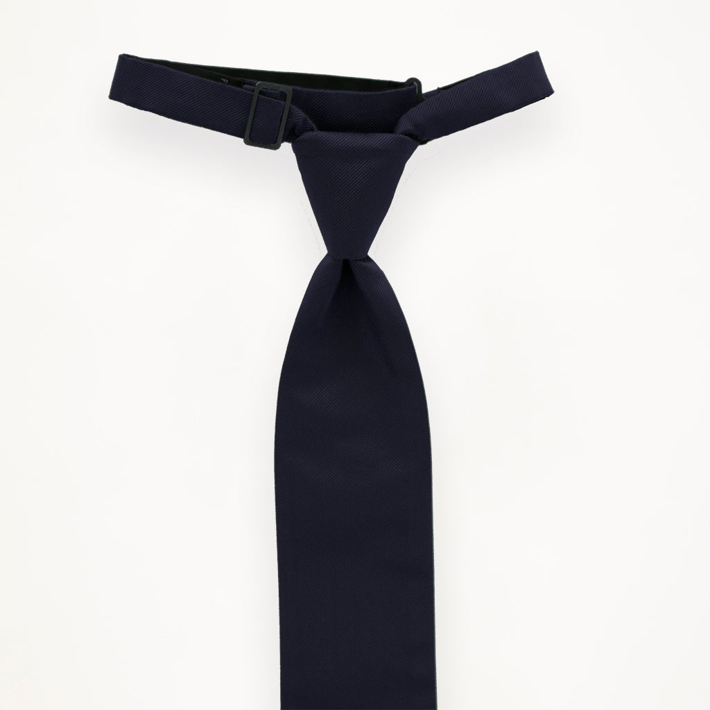 Midnight Savvi Solid Long Tie