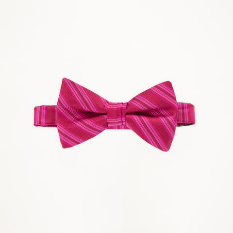 Passion Stripe Bow Tie