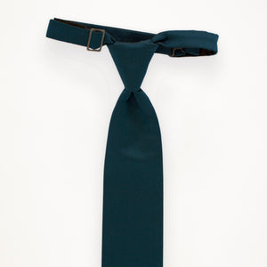 Peacock Savvi Solid Long Tie