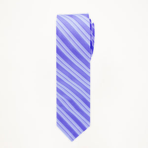 Peri Stripe Long Tie