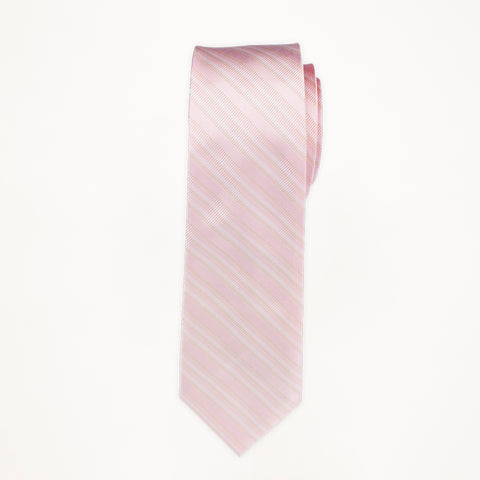 Petal Stripe Long Tie
