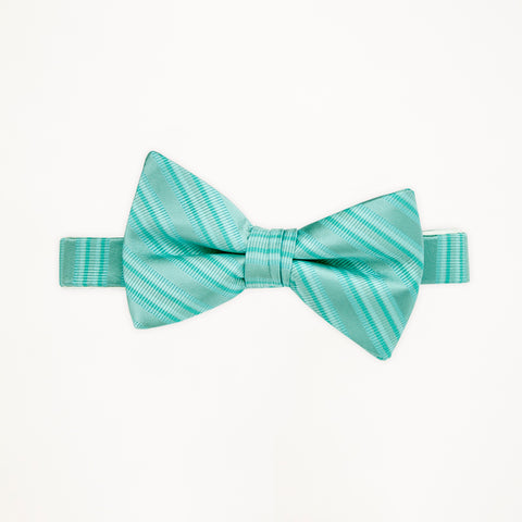 Pool Stripe Bow Tie
