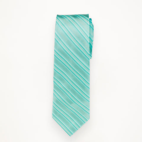 Pool Stripe Long Tie