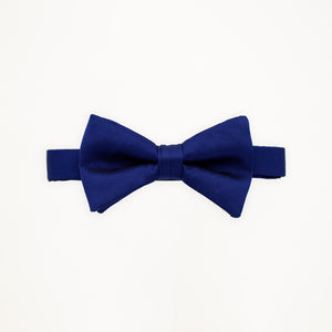 Royal Blue Savvi Solid Bow Tie