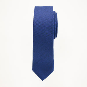 Royal Blue Matte Long Tie