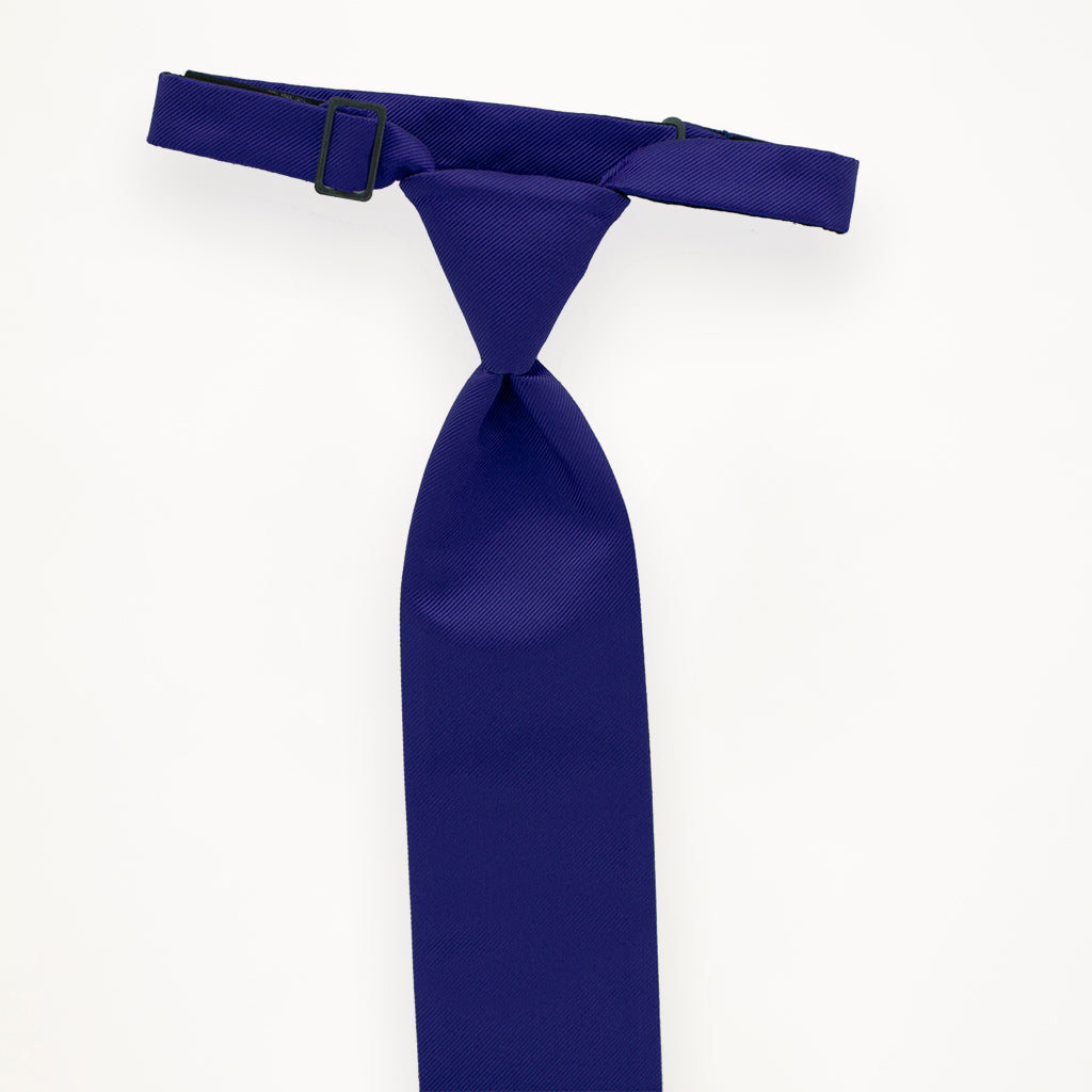 Royal Blue Savvi Solid Long Tie