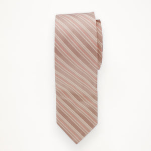 Rum Pink Stripe Long Tie