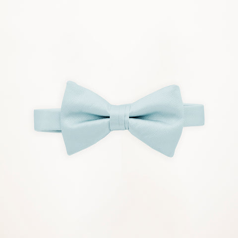 Sea Glass Savvi Solid Bow Tie