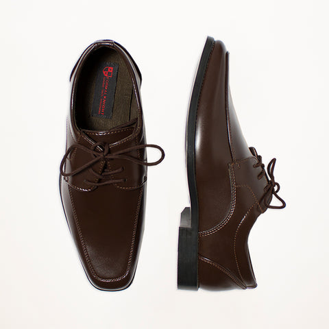 Dark Brown Matte Shoes