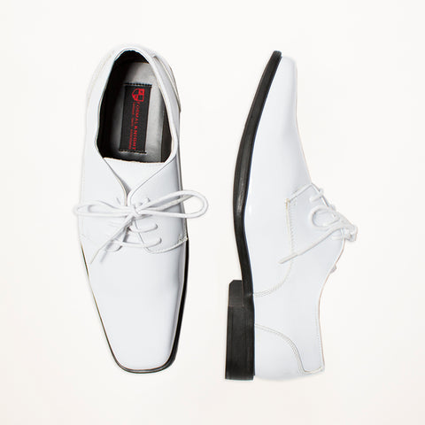 White Radio City Shoes