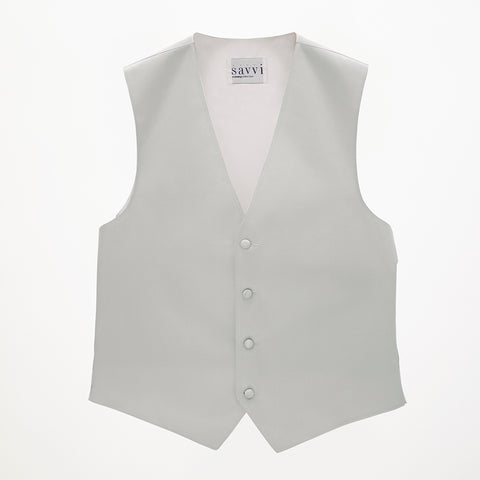 Silver Moonlight Savvi Solid Vest