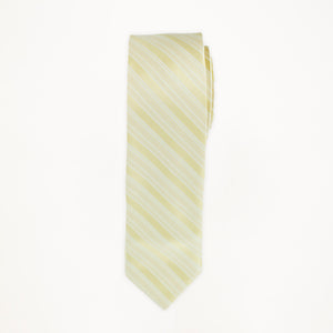 Straw Stripe Long Tie
