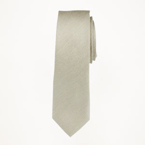 Tan Matte Long Tie