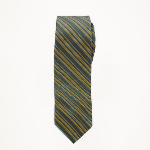 Tarragon Stripe Long Tie