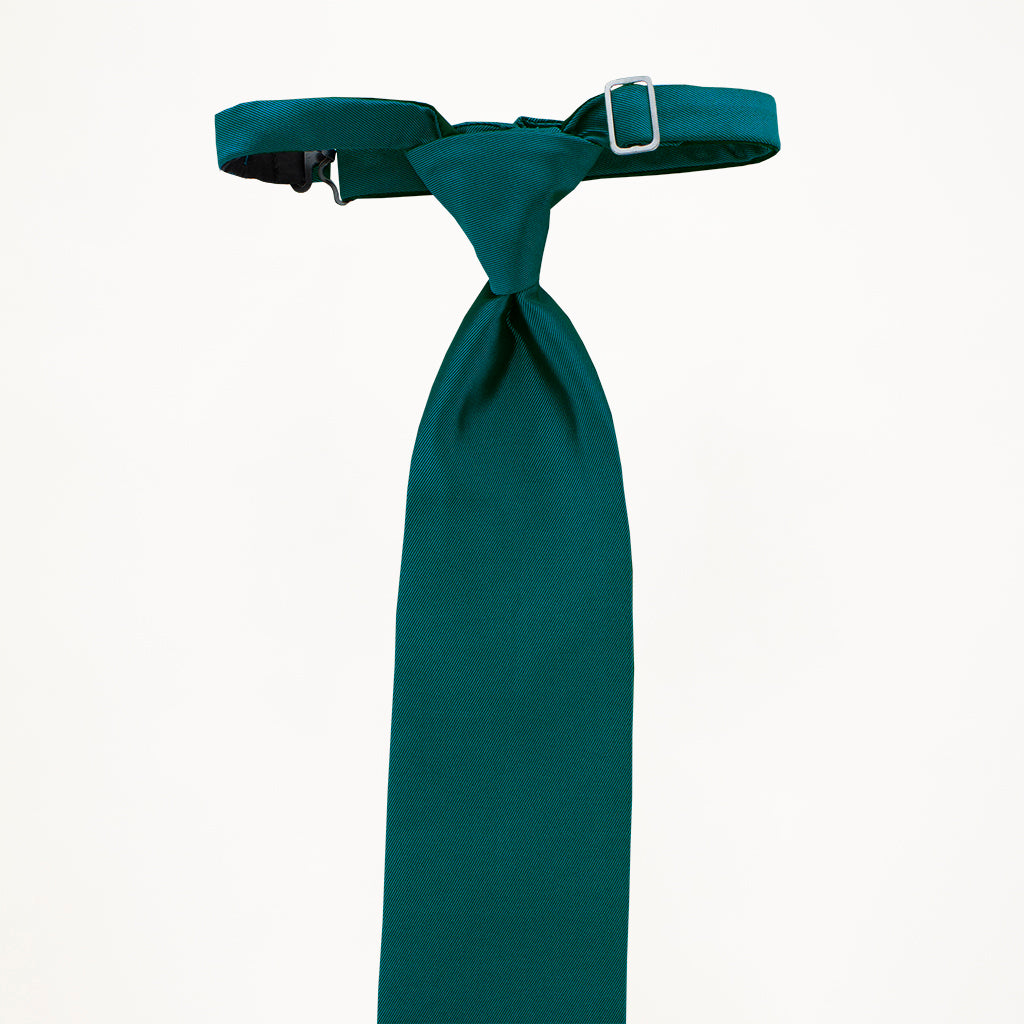 Teal Sterling Long Tie