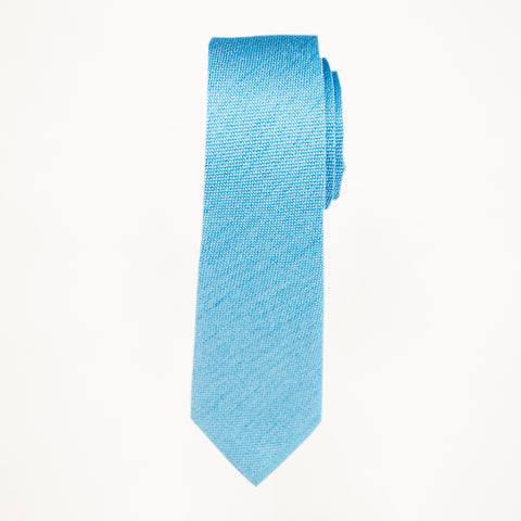 Turquoise Matte Long Tie