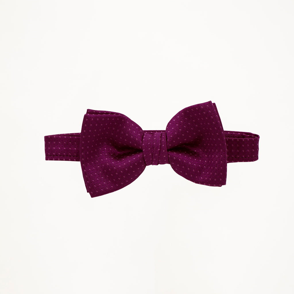 Violet Sterling Bow Tie