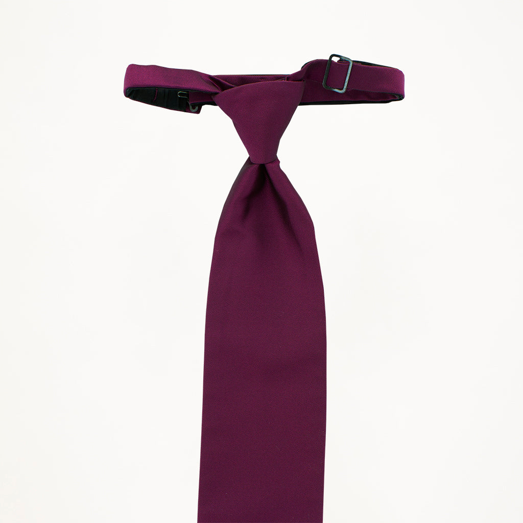 Violet Sterling Long Tie