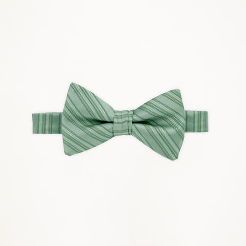 Waterfall Stripe Bow Tie