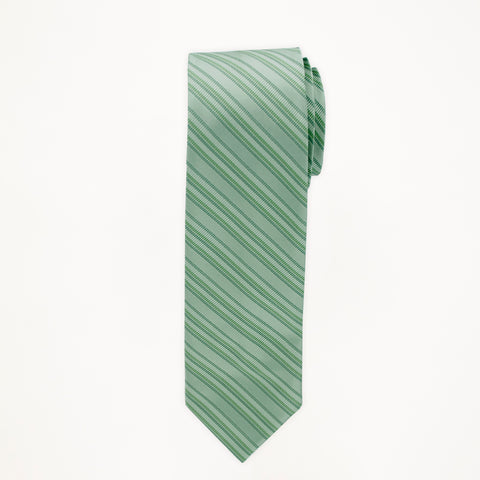 Waterfall Stripe Long Tie
