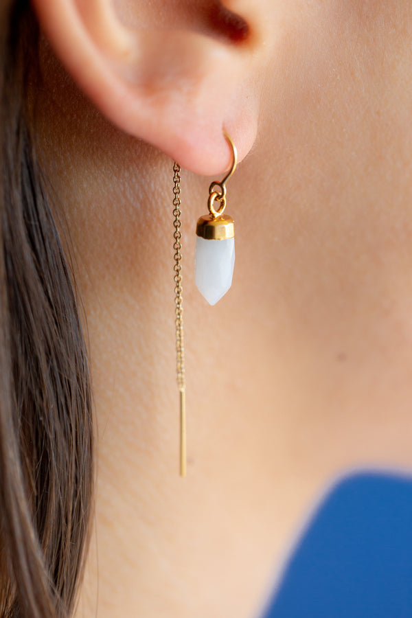 Snow Quartz - Mend Jewelry