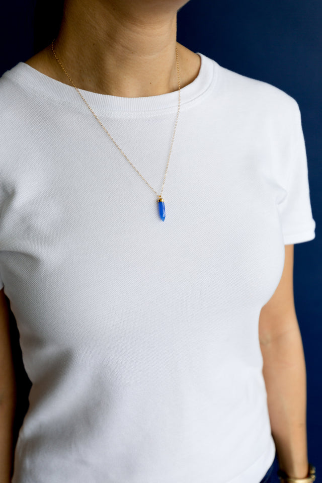 Blue Chalcedony - Mend Jewelry