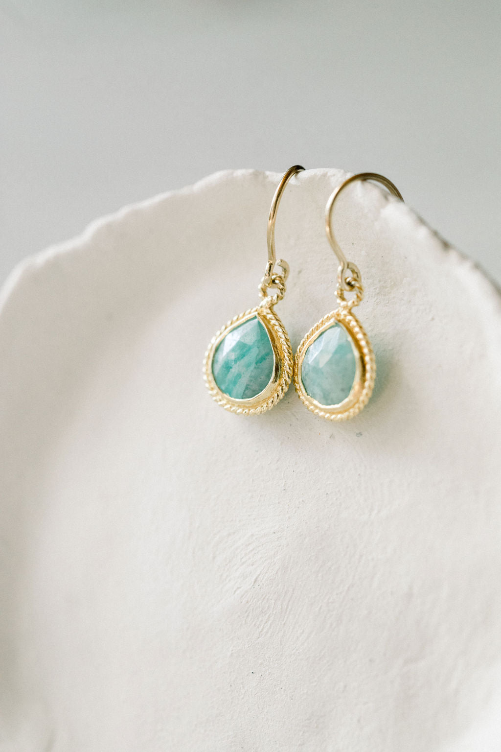 Coffee Moonstone | Chrysoprase - Mend Jewelry