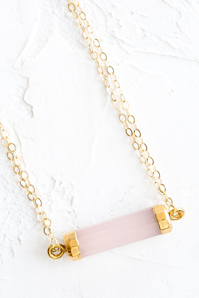 Pink Chalcedony - Mend Jewelry