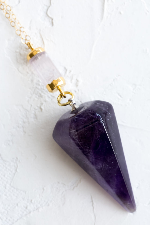 Rose Quartz | Amethyst - Mend Jewelry