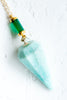 Green Onyx | Amazonite - Mend Jewelry