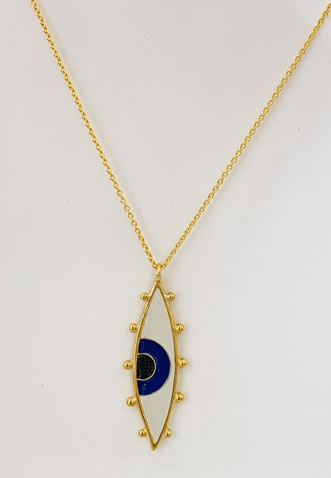 Aristea eye necklace