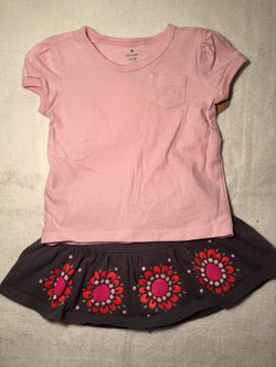 Girls (#88) 2pc skirt and top