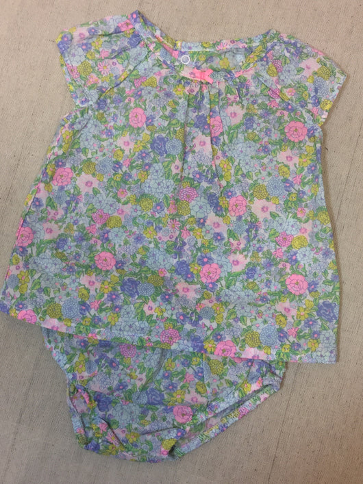 Girls (#117) 2pc Soft Floral