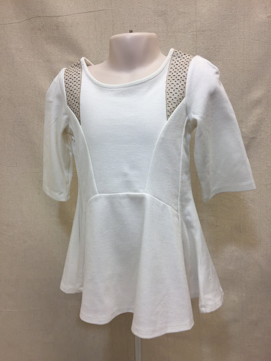Girls (#129) Flowing 3/4 Sleeve Top