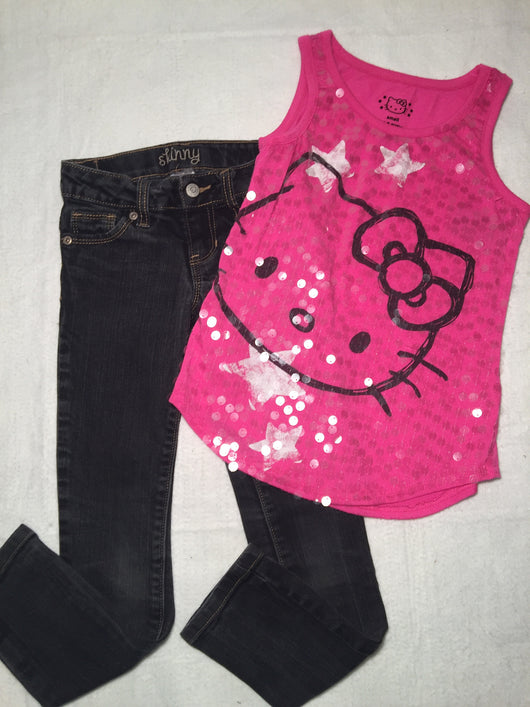 Girls (#107) 2pc Hello Kitty