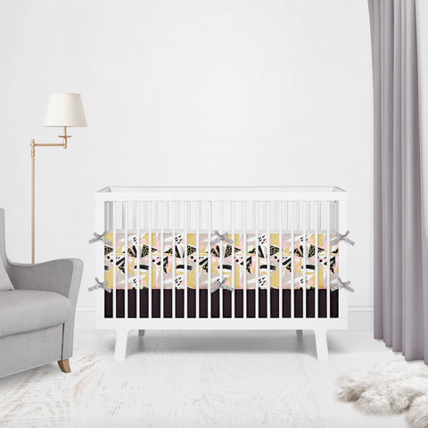 Chic Abstract Cot Bumpers